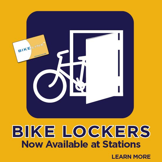 Bike Lockers Available