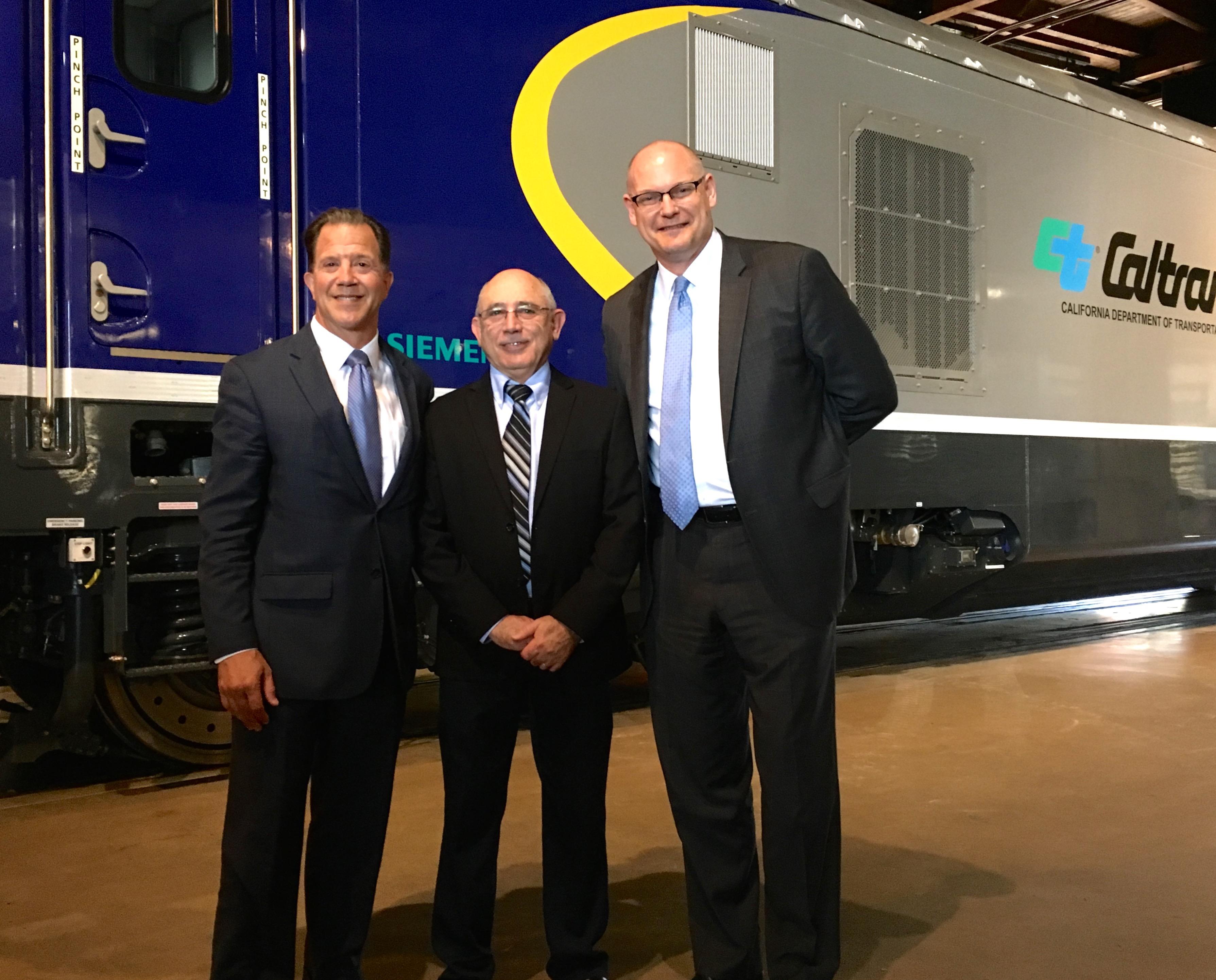 New Siemens locomotive