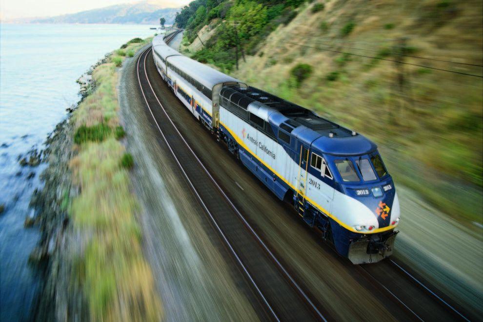 Capitol Corridor Train