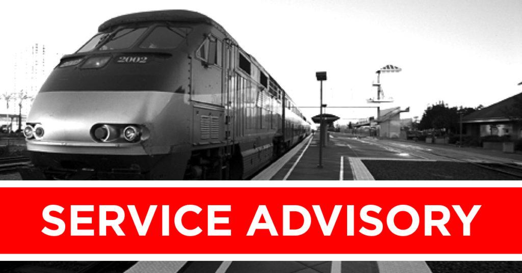 Train Service Advisory