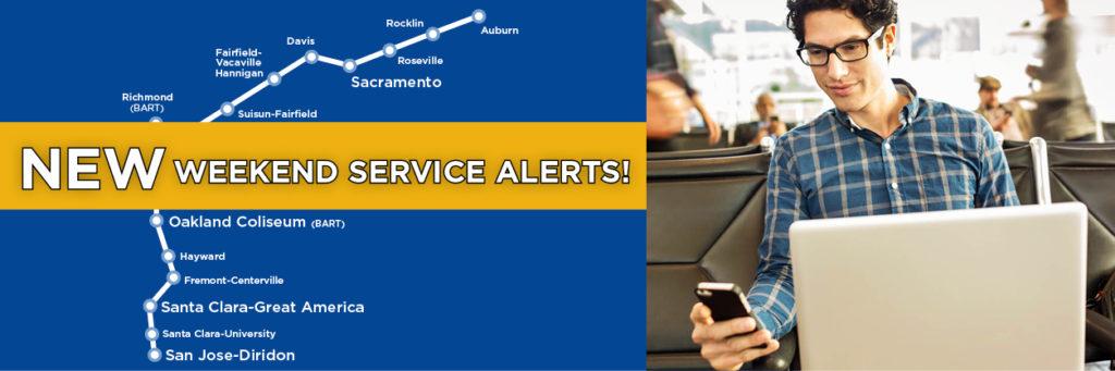 Weekend Service Alerts