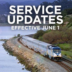 New Schedule In Effect June 1